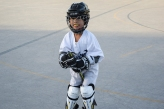 Along with quoting Harry Potter spells, this player liked to ride her hockey stick like a broom.