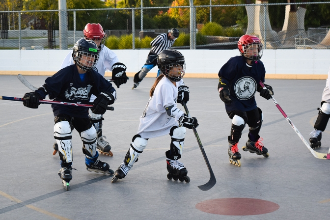 Little hockey stars are rising on the Central Coast