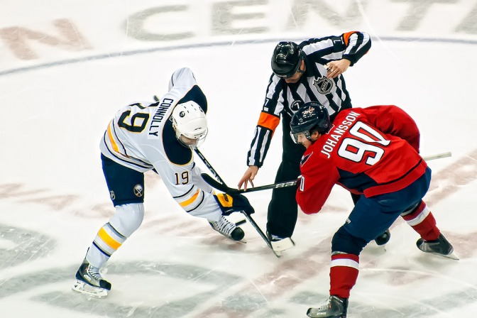People aren't quite sure what to think about the NHL's face-off rule